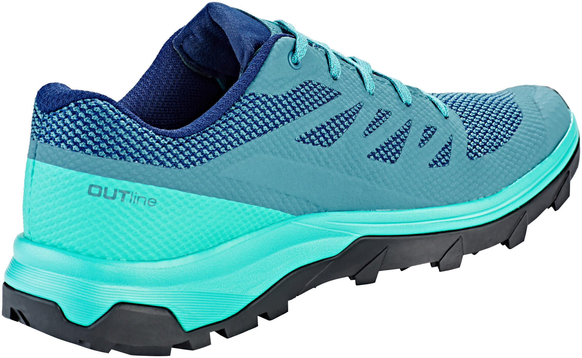 Salomon Outline Chaussures Femme, hydro.atlantismedieval blue